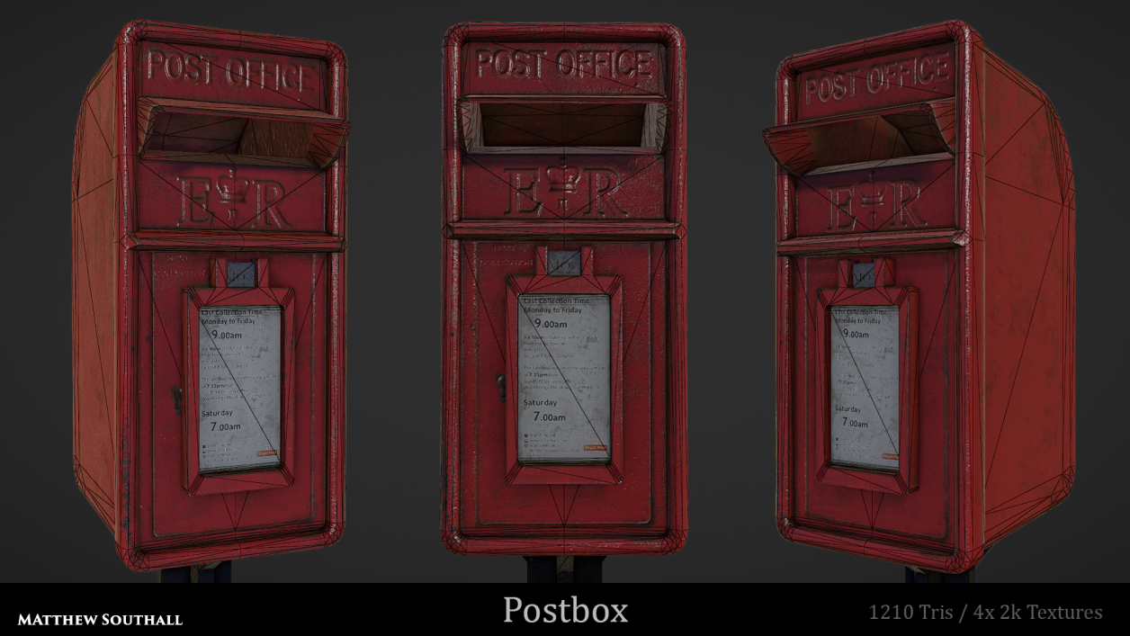 Postbox Front Wire
