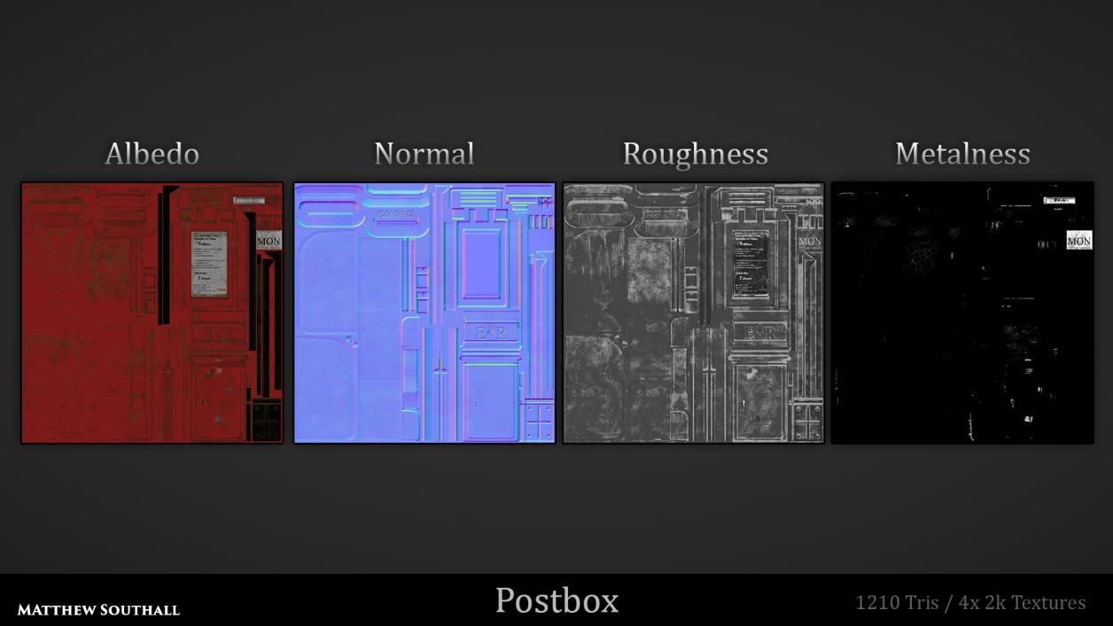Postbox Texture Sheet
